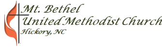 Mt. Bethel United Methodist Church logo