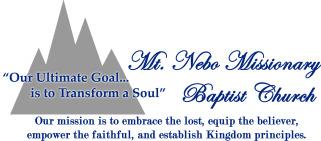 Mt. Nebo Missionary Baptist Church logo