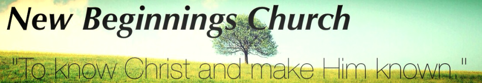 New Beginnings Church logo