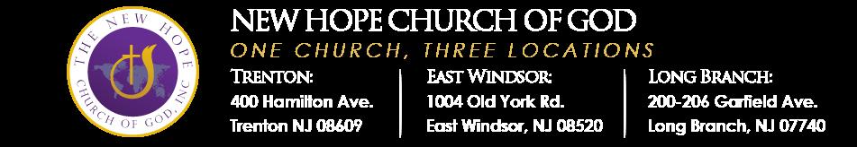 New Hope Church of God logo