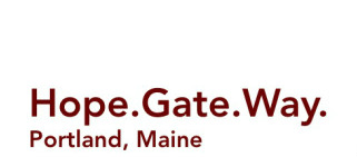 Hope.Gate.Way. ~ Portland, ME logo