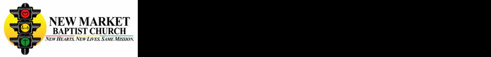 New Market Baptist Church logo