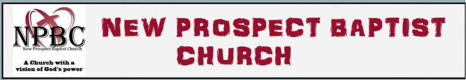New Prospect Baptist Church logo