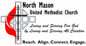 North Mason United Methodist Church logo