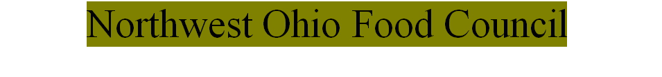 Northwest Ohio Food Council logo