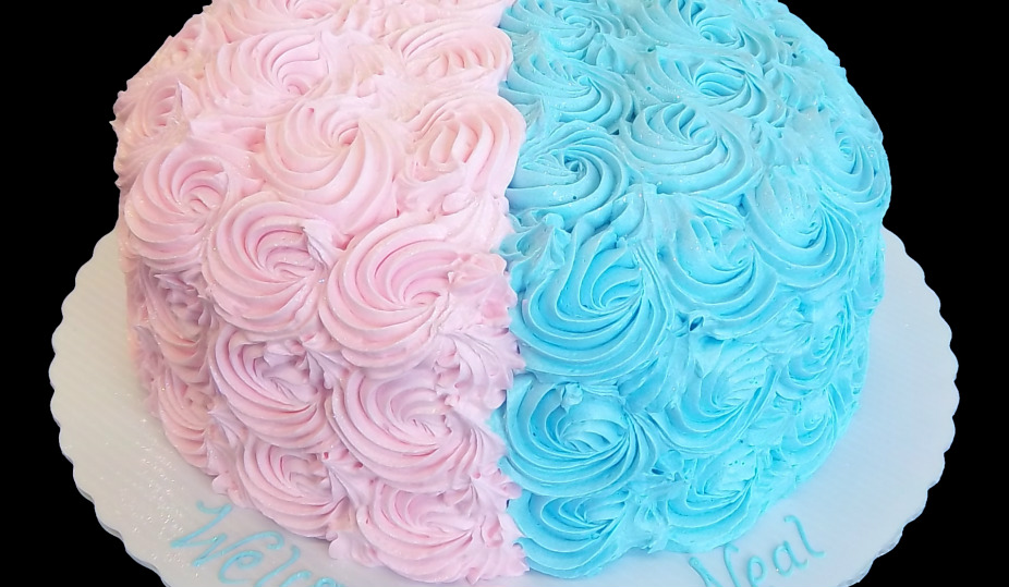 Oakmont Bakery Event Cakes Gender Reveal