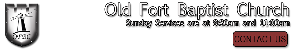 Old Fort Baptist Church. Summerville, SC logo