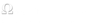 Omega Church Consultants + Church Design and Church Construction logo