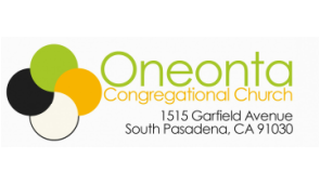 Oneonta Congregational Church, South Pasadena logo