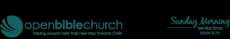 Open Bible Church Waverly, IA logo