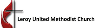LeRoy United Methodist Church logo