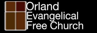 Orland Evangelical Free Church logo