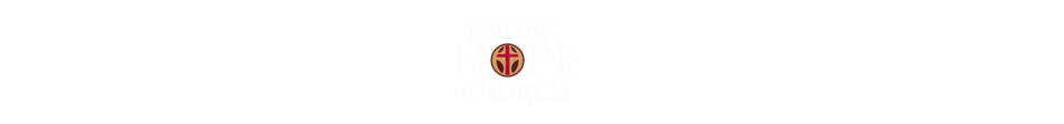 Pacific Hope Church - A San Diego Church logo