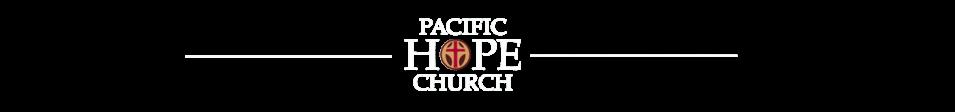 Pacific Hope Church - A San Diego Church logo