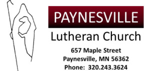 Paynesville Lutheran Church logo
