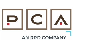 PCA | An RR Donnelley Company logo