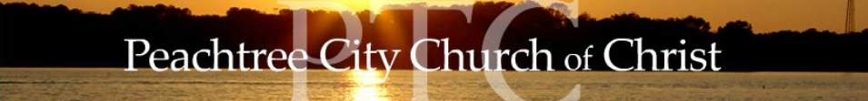 Peachtree City Church of Christ logo