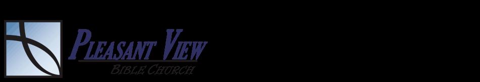 Pleasant View Bible Church logo