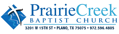 Prairie Creek Baptist Church logo