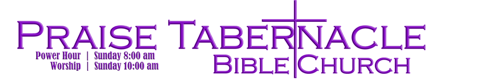 Praise Tabernacle Bible Church logo