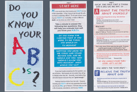 Prayer MinistriesGloucester Co Community Church / Know Your Abc's ...