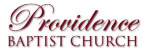 Providence Baptist Church logo