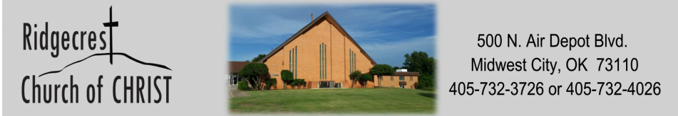 Ridgecrest Church of Christ logo