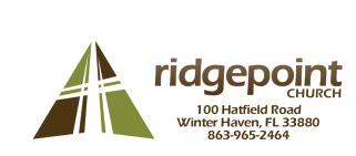 RidgePoint Church logo
