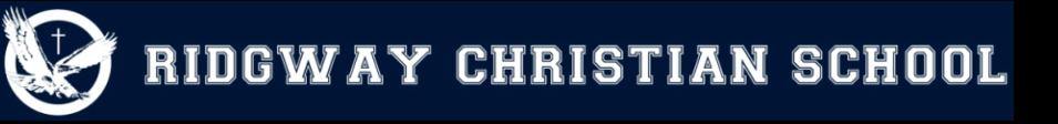 Ridgway Christian School logo