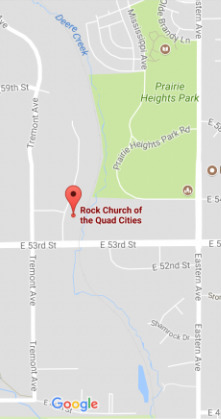 Rock Church of the Quad Cities  When  Where