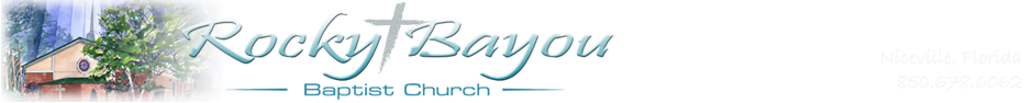 Rocky Bayou Baptist Church logo
