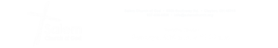 Salem Church of God logo