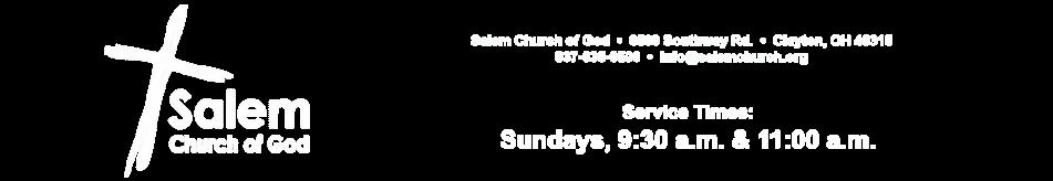 Salem Church of God logo