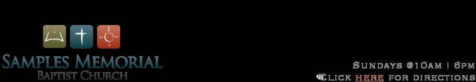 Samples Memorial Baptist Church logo