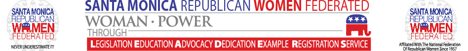 Santa Monica Republican Women Federated logo