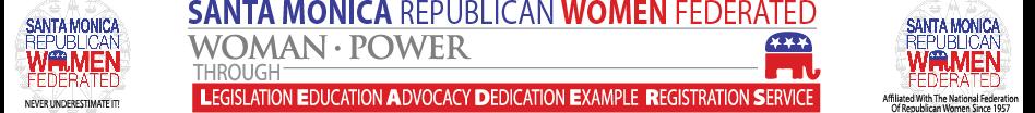Santa Monica Republican Women Federated logo