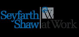 Seyfarth Shaw at Work logo