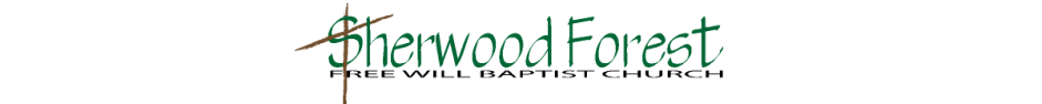 Sherwood Forest Free Will Baptist Church logo