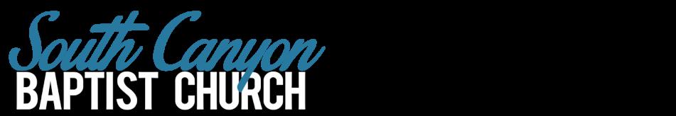 South Canyon Baptist Church logo