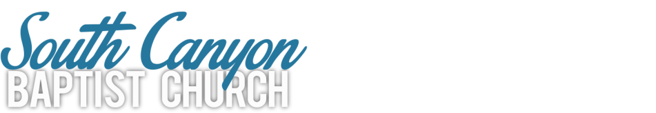 South Canyon Baptist Church logo