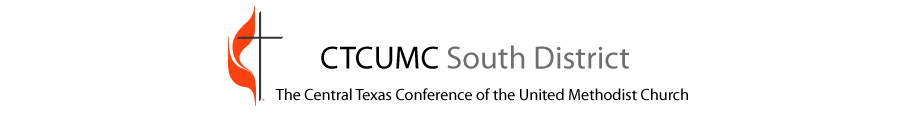 South District Office, UMC, CTC logo