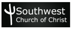 Southwest Church of Christ logo