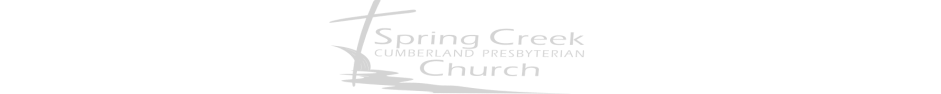 Spring Creek Cumberland Presbyterian Church logo