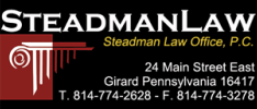 Steadman Law Office logo