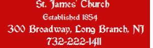 ST. JAMES' CHURCH logo