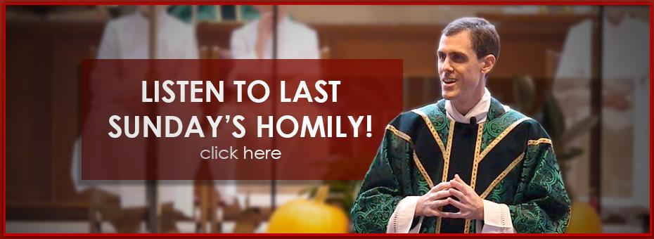 St  Joan of Arc Catholic Church / Media / Homilies (sermons)