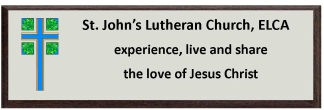 St Johns Lutheran Church logo