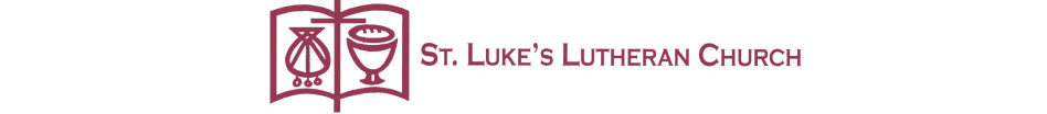 St Luke's Lutheran Church logo