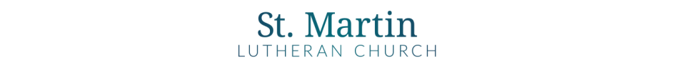 St Martin Lutheran Church logo