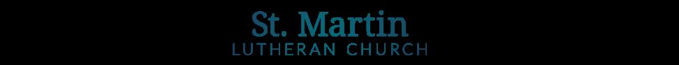 St Martin Lutheran Church logo